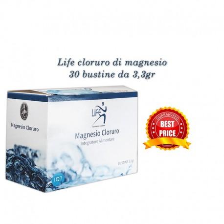 Life magnesio cloruro - scatola da 30 bustine